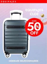 Hasta 50% off en equipaje