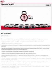 Kia Secure Parts