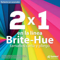 2 x 1 en Brite-Hue