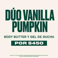Dúo Vanilla Pumpkin