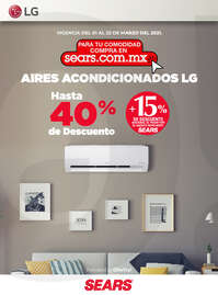 Aires acondicionados LG