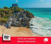 En el Buen Fin visita las mejores Playas Mexicanas