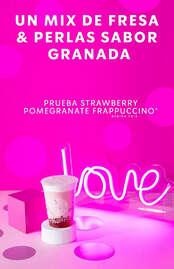 Strawberry Pomegranate Frappuccino