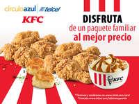 Con Circulo Azul Telcel y KFC disfruta de esta increíble promoción