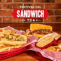 El Festival del Sandwich llegó a Texas Ribs