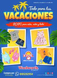 Todo para tus vacaciones Infantil
