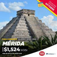 Vuela a Mérida