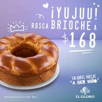 Es momento de disfrutar una deliciosa Rosca Brioche