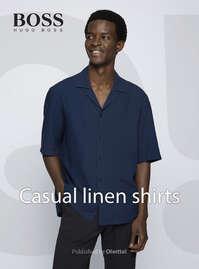 Casual linen shirts