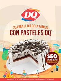 Pasteles DQ hasta el 29 de febrero
