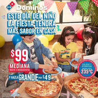 Pizza mediana $99