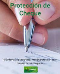 Reforzamos la protección de cheques