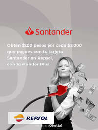 Santander Plus x Repsol