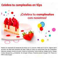 Celebra tu cumpleaños en vips