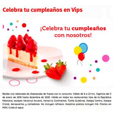 Celebra tu cumpleaños en vips- Page 1
