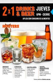 2x1 Drinks & Beer