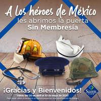A los héroes de México