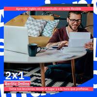 ¡Aprovecha el 2X1 en Berlitz Online!