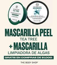 Mascarilla peel tea tree + Mascarilla limpiadora de algas gratis