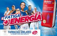 - Fatiga, + energía