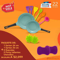 Promo utensilios de cocina