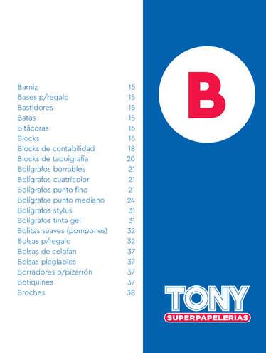 Catáogo Tony 2021- Page 1