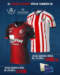 Playera Chivas & Atlas