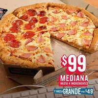 Pizza Mediana por $99