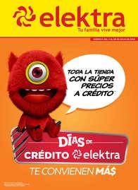 Días de crédito elektra