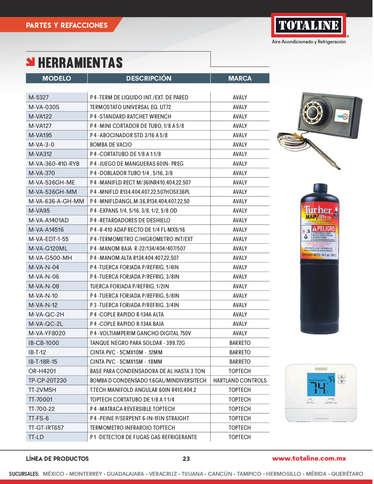 Aire acondicionado y refrigeración- Page 1