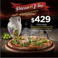 Elige tu pizza favorita