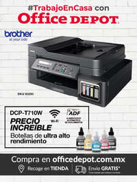 #Trabajo en casa con Office Depot - Brother