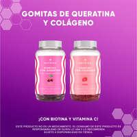 Gomitas de colágeno y queratina