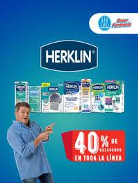 Herklin 40% de descuento en toda la línea