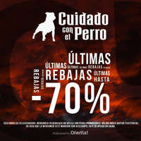 Últimas Rebajas hasta 70%