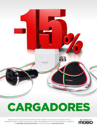 15% de descuento en cargadores