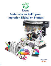 Materiales en Rollo para Impresión Digital en Plotters