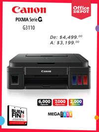 Buen Fin Canon Pixma Serie G
