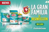 Gran familia de la desinfección