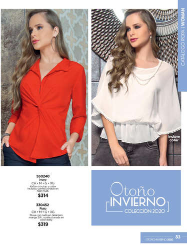 Ropa de Mujer OI- Page 1