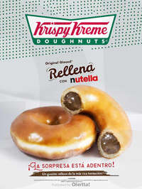 Original Glazed rellena con Nutella