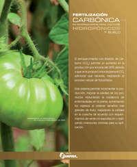 Fertilización  carbónica en invernaderos para cultivos hidropónicos y suelo