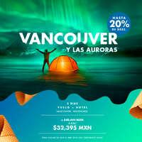 Vancouver y las Auroras con vuelo