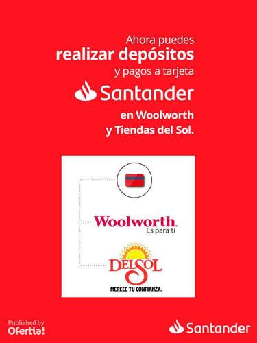 Deposita y paga tu tarjeta en Woolwoth y Del Sol- Page 1