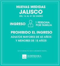 Nuevas medidas Jalisco