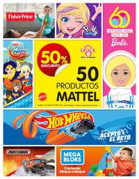 Mattel: 50% de descuento   NL