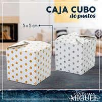 Caja cubo de puntos