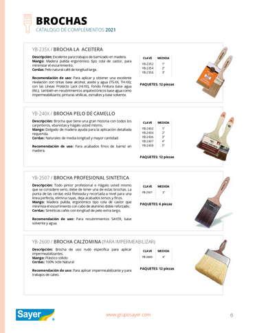 Catálogo complementos- Page 1
