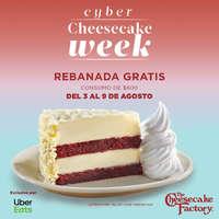 Cyber cheesecake week