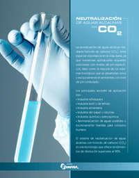 Neutralización de aguas alcalinas con CO2
